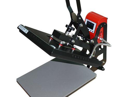 Lisovací stroj na ktorom dokážeme tepelne potlačiť rôzne tričká, pracovné odevy, montérky, mikiny, bundy, tepláky, tašky, vlajky, dresy a veľa ďalších reklamných a darčekových predmetov
